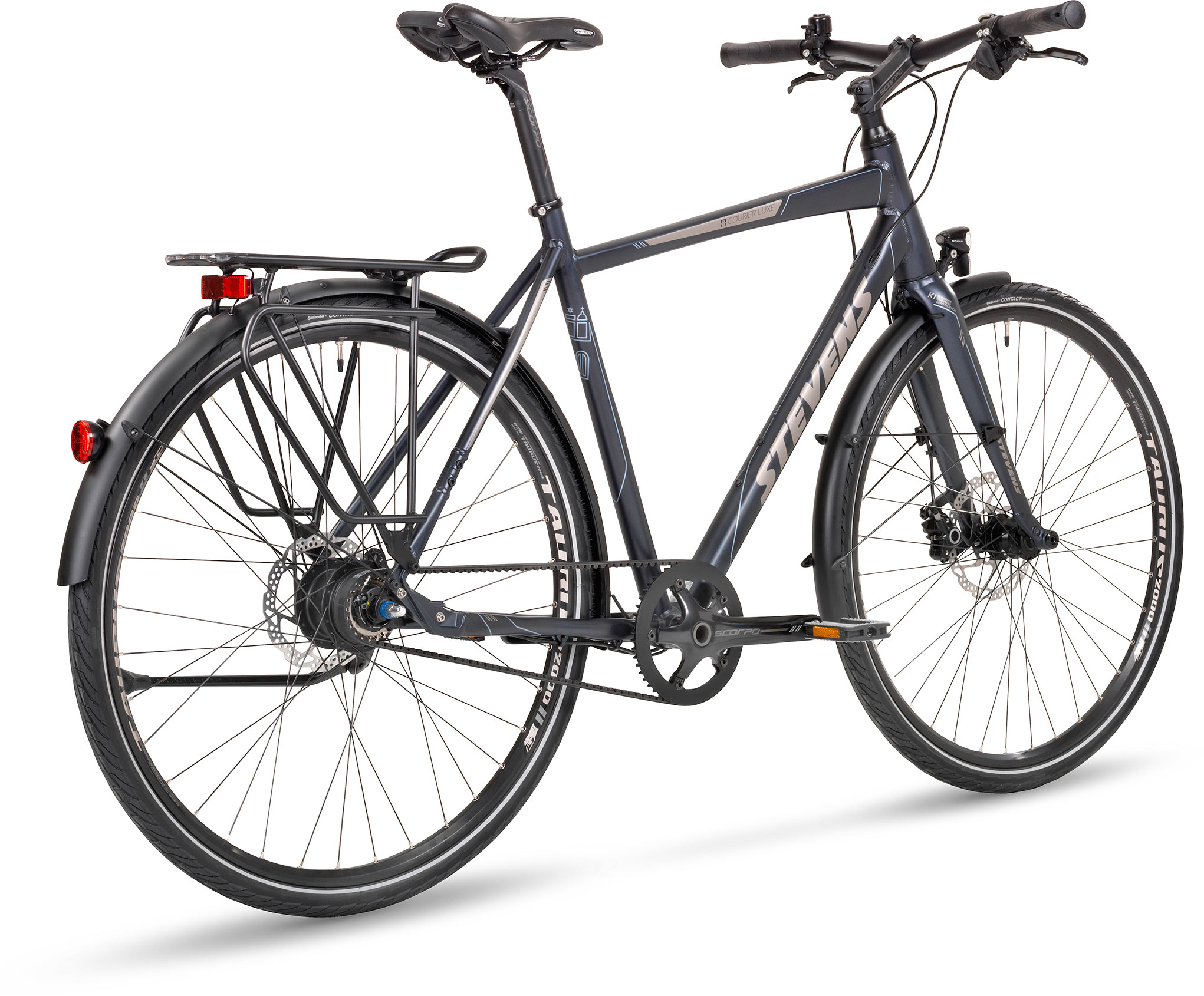 Courier Luxe Gent Stevens Bikes 2016