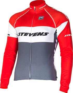 Stevens Winter Jersey Long Sleeve Equipe Black White Bike Size XXXL